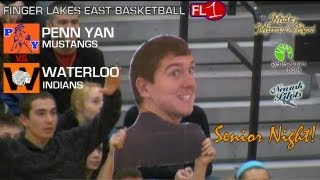 preview picture of video 'Penn Yan @ Waterloo .:. Section V Basketball .:. 2/12/13'