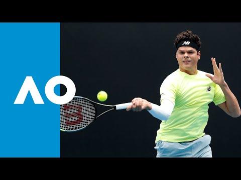 Lorenzo Giustino vs. Milos Raonic - Match Highlights (1R) | Australian Open 2020