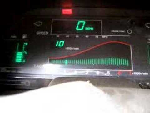 Old School Digital Car Dashboard Roundup Is an LED Light Show