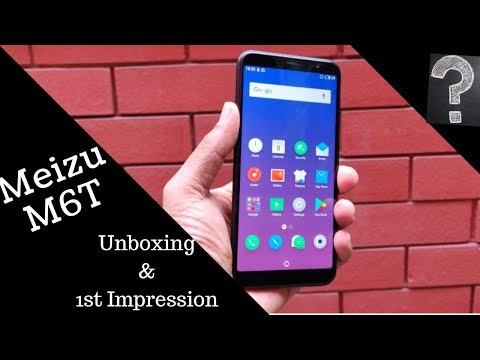 Meizu M6T unboxing and 1st impression