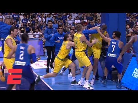 Punches thrown and chairs hurled in brawl at Philippines-Australia FIBA  World Cup qualifier  4fd0a4442