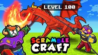 I Carefully EXPLOIT Weakness of KING DRAGON! (Scramble Craft)