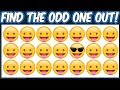 Find The Odd Emoji Out   Spot The Difference Emoji   Emoji Puzzle Quiz   Find the difference