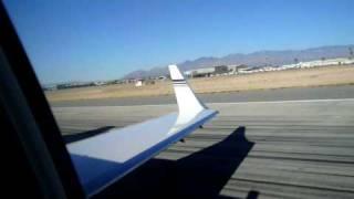 Learjet 45b Takes Off Video