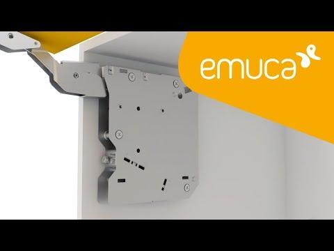 Cómo instalar y regular el sistema para puertas elevables Agile en muebles de cocina y hogar - Emuca