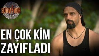 Kim Kaç Kilo Verdi? | 39.Bölüm | Survivor All Star 2015