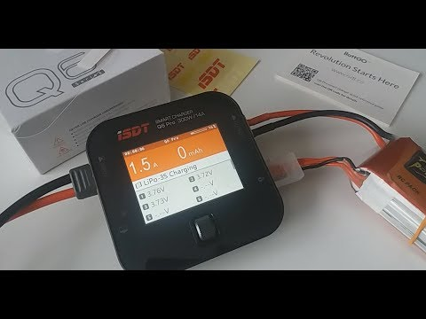 ISDT Q6 Pro BattGo 300W 14A Pocket Lipo Battery Balance Charger TESTED with LIPO from Banggood