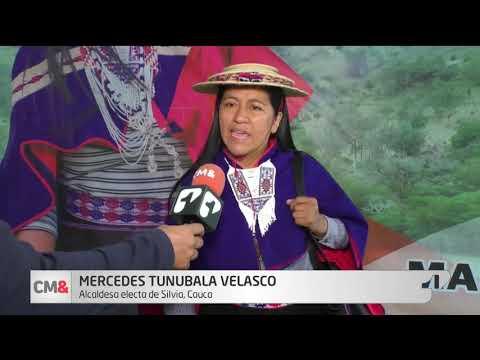 En Silvia, Cauca eligieron a la primera alcaldesa indigena