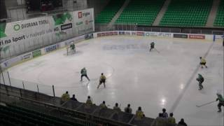 U-20 EBYSL 15.2.2017 HK Olimpija – Vienna Capitals 4:5, Povzetki s tekme