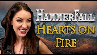 Hammerfall - Hearts On Fire 🔥 (Cover By Minniva Feat. Mr Jumbo)