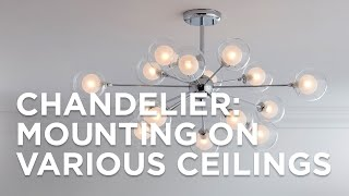 Chandelier Mounting Options