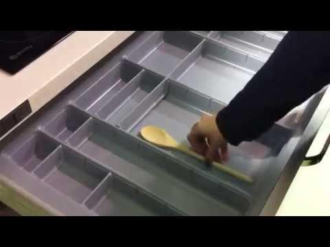 Cubertero Modular para Cajón de Cocina Blum