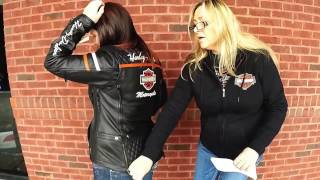 Miss Enthusiast Triple Vent Leather jacket  - Terri and Harley