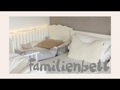 Ikea Hensvik zum Beistellbett umbauen // aktuelle Schlafsituation // Familienbett
