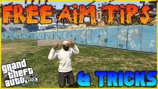 GTA 5 Online | Free Aim Tips & Tricks | (READ DESC)