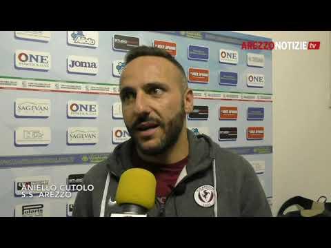 Carrarese-Arezzo 2-2, intervista a Cutolo