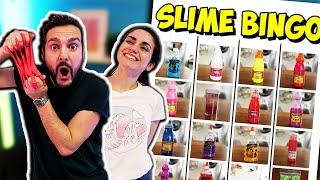 SLIME BINGO Challenge! Wer findet die erste Schleim-Reihe und darf Slime selber machen?