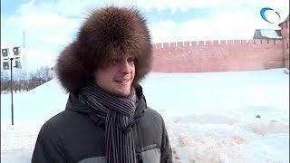 Капитан команды знатоков клуба «Что? Где? Когда?» Борис Белозёров посетил Великий Новгород