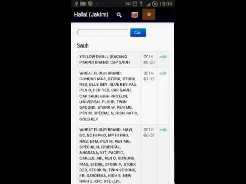 Video of Halal Check