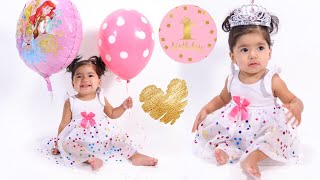 OUR BABYS FIRST BIRTHDAY!! BABY PHOTO SHOOT AT HOME #191 - ALEXISJAYDA