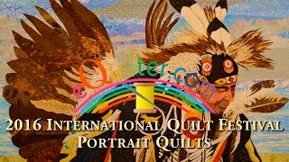 Luana Rubin presents Portrait Quilts at the 2016 IQA