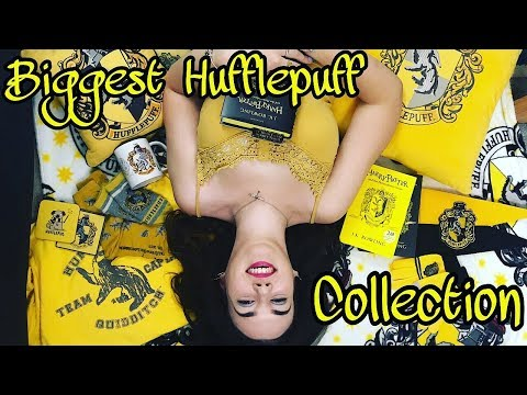 My Harry Potter Hufflepuff Collection - BIGGEST EVER?!?