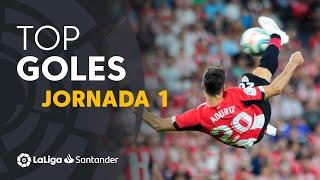 All goals Matchday 01 de LaLiga Santander 2019/2020
