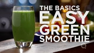 Dr v basics how to make a tasty easy beginner green smoothie how to make an easy green smoothie the basics on qvc fandeluxe Choice Image