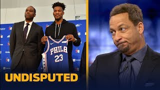 Chris Broussard says there are many 'red flags' on Jimmy Butler joining the 76ers | NBA | UNDISPUTED