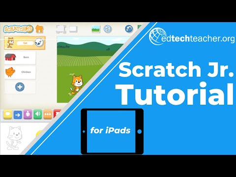 Scratch Jr. iPad Tutorial