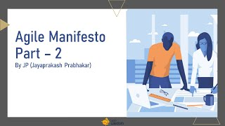 Agile Manifesto Part - 2