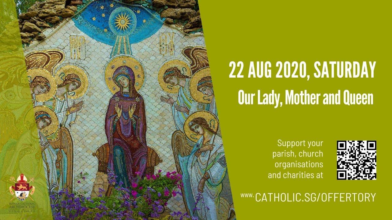 Catholic Live Mass Saturday 22 August 2020 Online