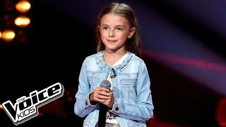 "Elena Jakubiec - ""True Colors"" - Przesłuchania w ciemno - The Voice Kids 2 Poland"
