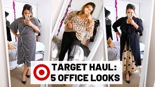 Plus Size Clothing Try On Haul/Office Lookbook - Target