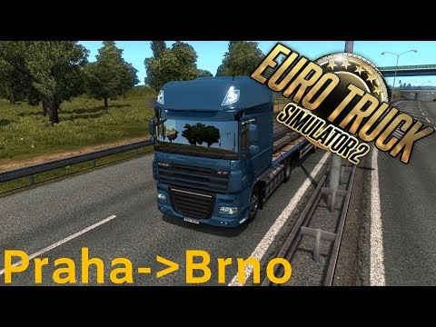 PRAHA - BRNO  | s05#01 | EURO TRUCK SIMULATOR 2 | CZ/SK