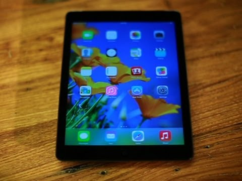 iPad Air: Thinner, lighter, faster, better