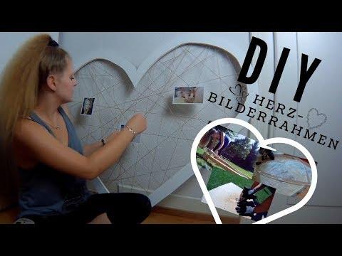 DIY Herz-Bilderrahmen | Schritt für Schritt Anleitung | Katherina Kathi