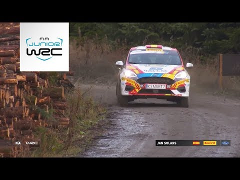 Junior WRC - Wales Rally 2019: Event Highlights