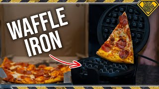 Is it a Good Idea to put PIZZA in a Waffle Iron?