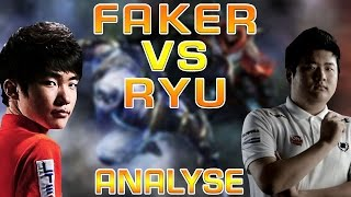 Outplayed #1: Faker vs Ryu - Zed vs Zed - Analyse [GER]
