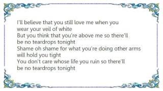 Ferlin Husky - There'll Be No Teardrops Tonight Lyrics