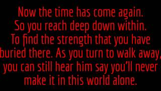 12 Stones- Running Out Of Pain