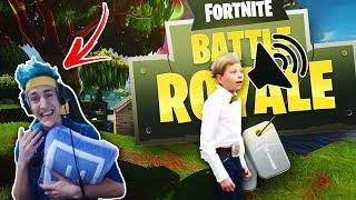 Ninja Reacts To    Walmart Yodeling Kid (REMIX)   Fortnite Battle Royale