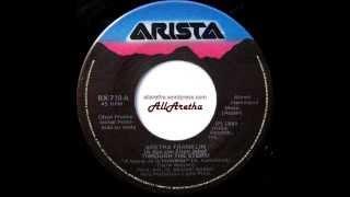 """Aretha Franklin - Through The Storm / Through The Storm - 7"""" DJ Promo Mexico - 1989"""