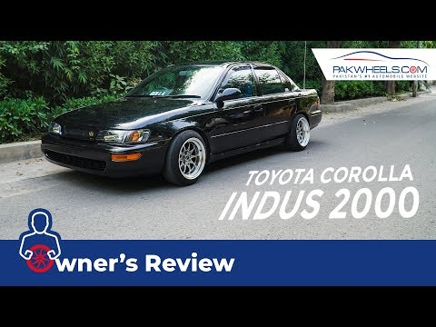 Toyota Indus Corolla 2000 Owner's Review: Specs & Features