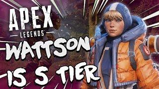Apex Legends Tips Wattson is S Tier x Gameplay Breakdown x PC XBOX PS4