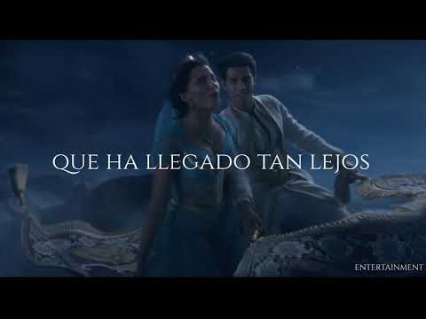 Mena Massoud, Naomi Scott - A Whole New World (Letra Traducida)