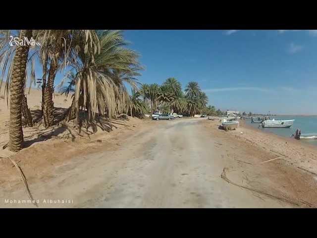 شاب يقوم برحلة الى شواطئ مقنا والخريبه بـ منطقة تبوك