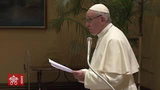 Papa Francesco udienza a Plenaria della Congregazione per il Culto Divino 2019-02-14