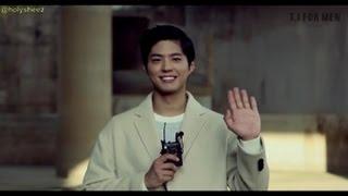 [ENG SUB] Park Bogum (박보검) T.I. For Men Making Film